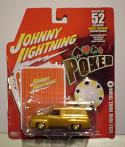 Qiyun Johnny Lightning 2006 Poker Series II 1955 Ford Panel Truck (1955 Ford Panel Truck)