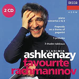 Favorite Rachmaninov: Piano Concertos 2 & 3 / Rhapsody on a Theme of Paganini / 5 Preludes / 3 Etudes Tableaux