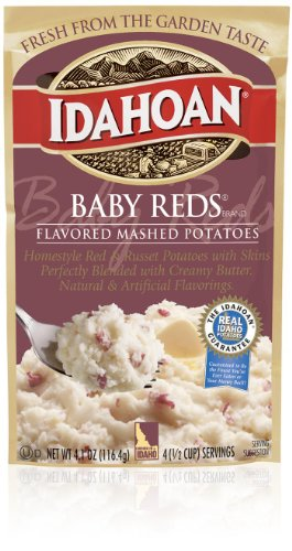 Red Potato (Idahoan Baby Reds Flavored Mashed Potatoes (10 Pack))