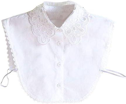Zeagro - Blusa de Cuello Falso para Mujer: Amazon.es: Hogar