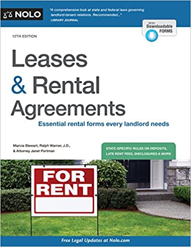Leases  Rental Agreements Marcia Stewart Ralph Warner Janet