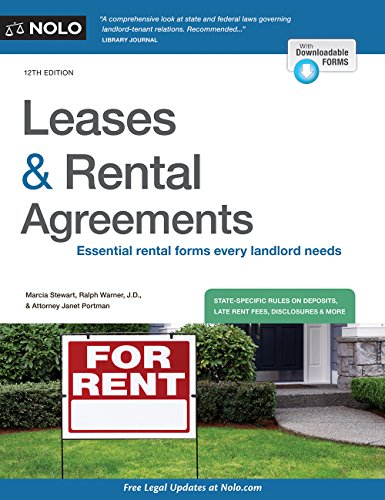 - Leases & Rental Agreements