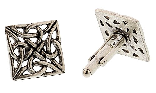 Silver Celtic Knot Cufflinks By Classic Cufflinks (Silver Cufflinks Knot Celtic)