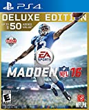 electronic arts playstation 4 - Madden NFL 16 - Deluxe Edition - PlayStation 4