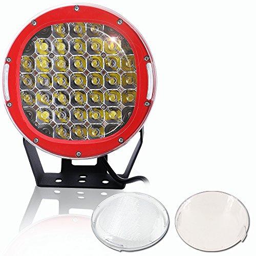 """AUSI 9"""" 185W 12-24V Round Auxiliary Spot LED big image"""