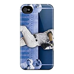 For Iphone 4/4s Premium Cases Covers New York Yankees Protective Cases