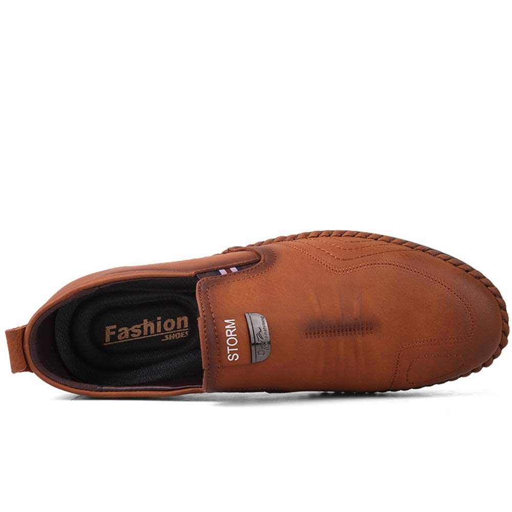 Herren Lederschuhe Herrenschuhe Männer Casual schuhe 2019 Spring Fall Fall Spring Men ' S Loafers Moccasins komfortabel durchgänglichen Atemrutsch auf Stiefelschuhen,a,39 5e80da