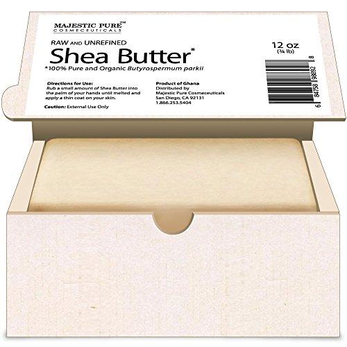 Majestic Pure Grade A Unrefined Organic Shea Butter, 12 oz by Majestic Pure (Image #6)