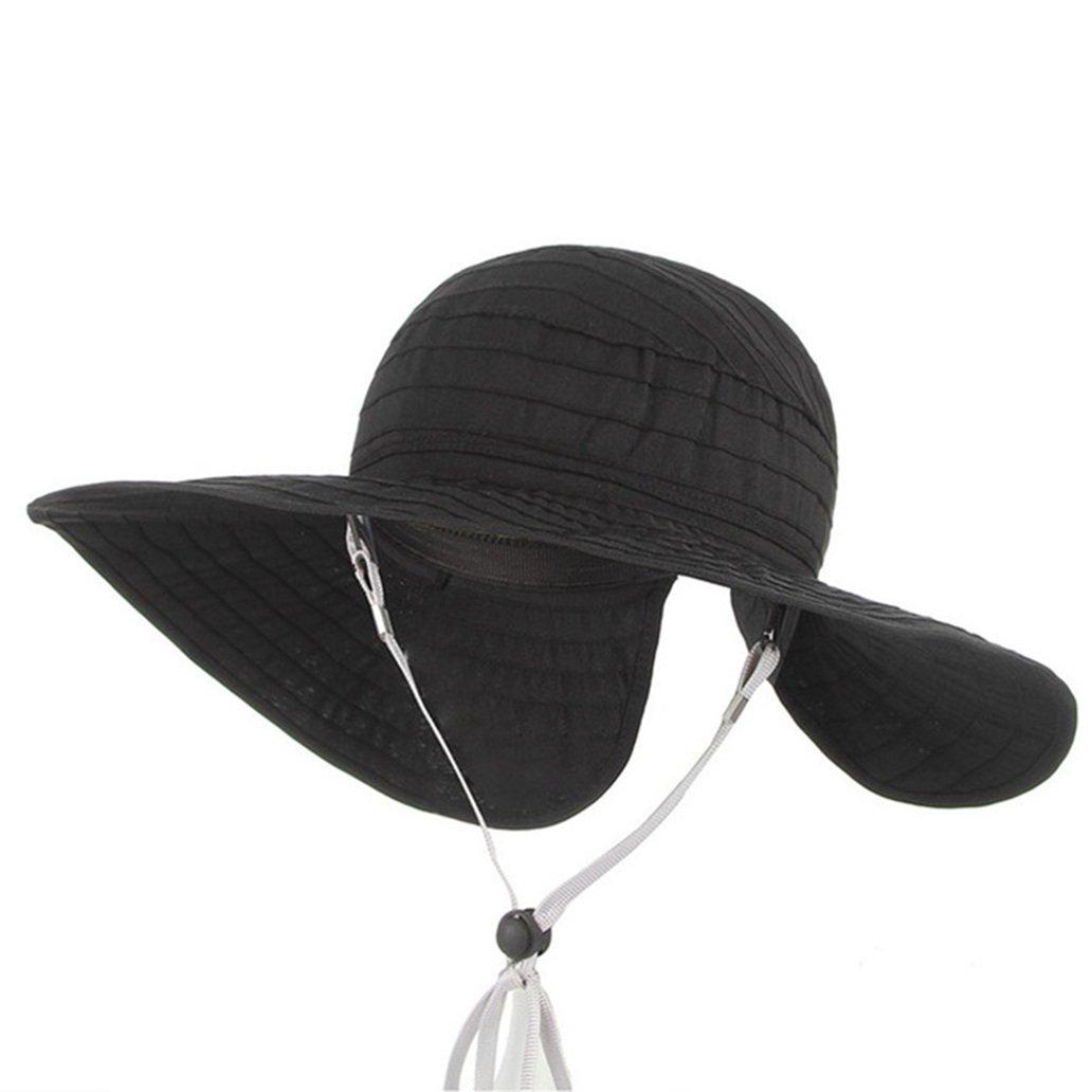 Amazon.com  Kids Summer Sun Hats-Baby Empty Top Wide Brim Floppy Foldable Cute  Beach Hats  Clothing 608aebde50d2
