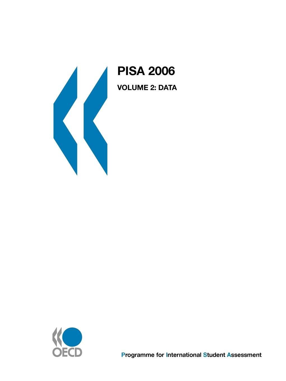 Download PISA 2006: Data ebook