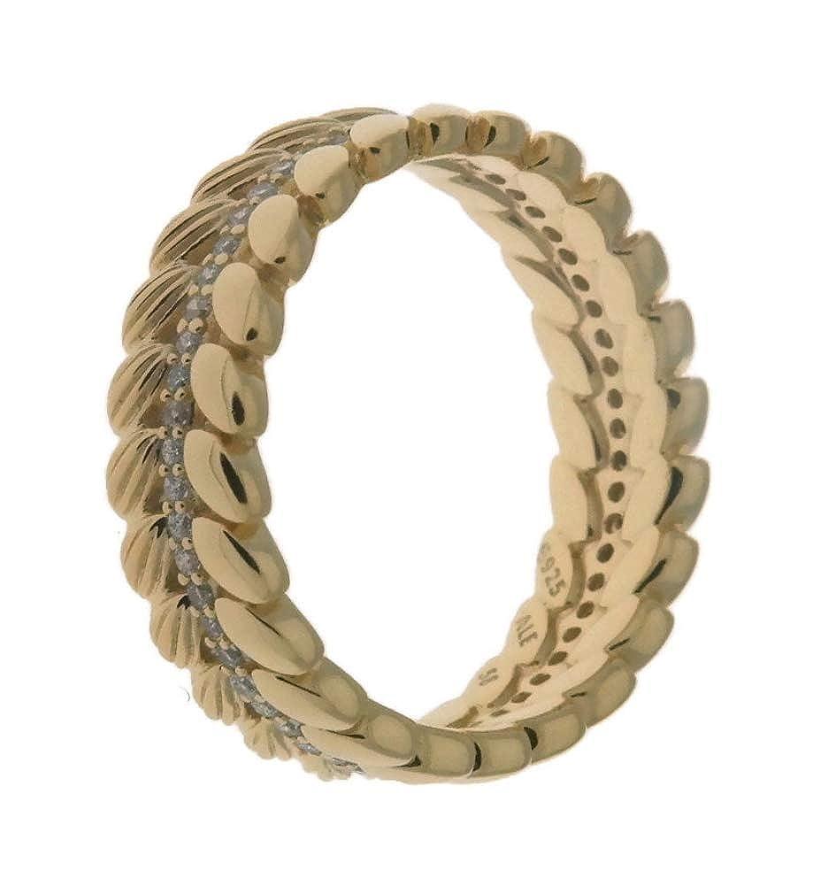 2d9d7b18d Amazon.com: PANDORA Grains of Energy Ring, PANDORA Shine - 167698CZ: Jewelry