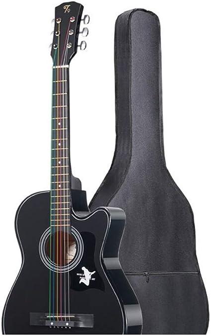 Boll-ATur Guitarra for principiantes de 38 pulgadas Uso de la mano ...