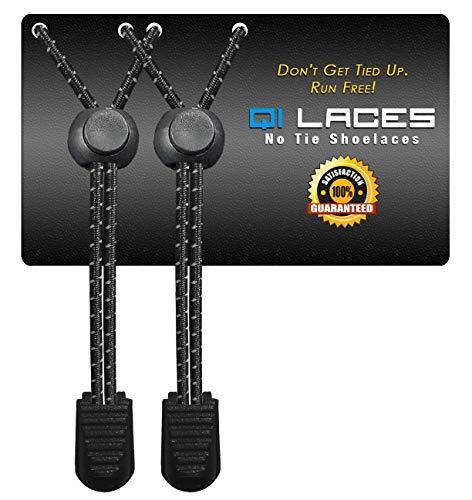 Qi Laces No Tie Shoelaces for Kids & Adults