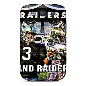Excellent Design Oakland Raiders Phone Case For Galaxy S3 Premium Tpu Case