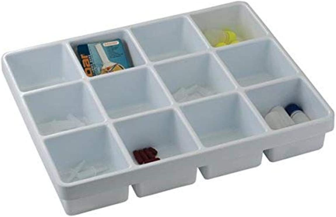 Bel-Art Lab Drawer 12 Compartment Tray for Gadgets; 14 x 17/½ x 2/¼ in. H18652-0000