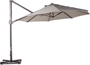 Abba Patio Offset Cantilever Patio Hanging Umbrella