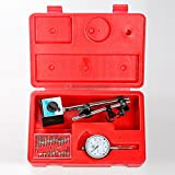 All Industrial Tool Supply TR72020 Dial Indicator (Magnetic Base and Point Precision Inspection Set), 1 Pack