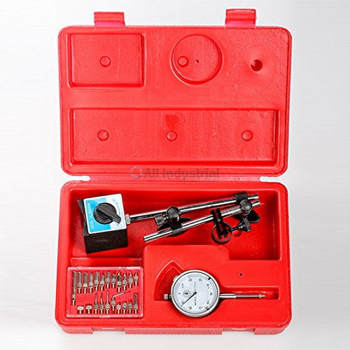 (All Industrial Tool Supply TR72020 Dial Indicator (Magnetic Base & Point Precision Inspection Set))