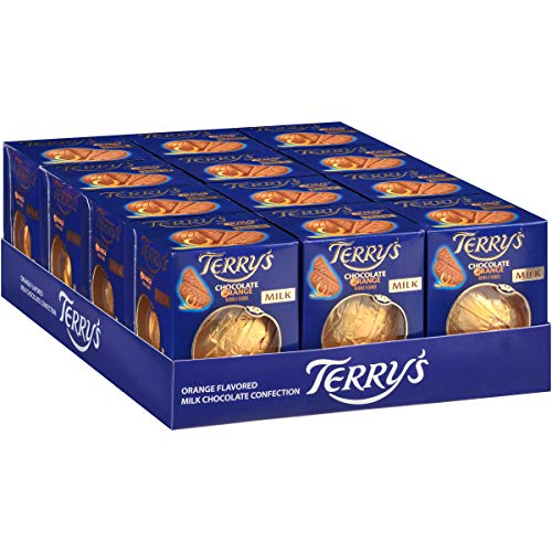 Terry's Milk Chocolate Orange Balls (Pack of 12) by Terry's (Image #1)