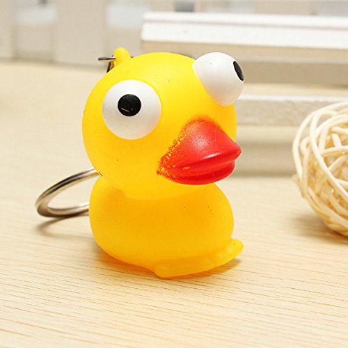 Squeeze Spoof Toy Stress Reliever Toy With Key Chain - 4