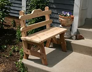 Wondrous Creekvine Designs Cedar Tab Back Bench 3Ft Pabps2019 Chair Design Images Pabps2019Com