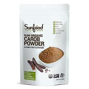 Sunfood Carob Powder, 1lb, Organic