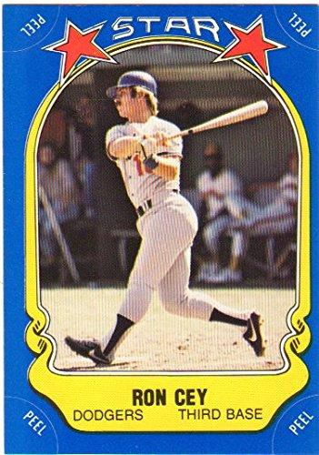 Ron Cey 1981 Fleer Star Stickers (Premier Issue)