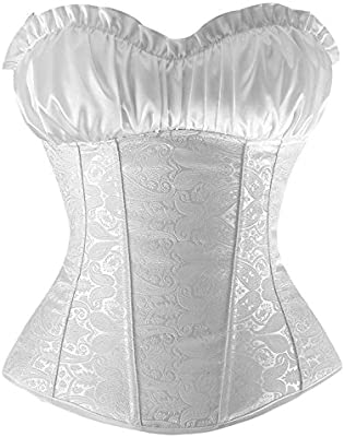 popular design sleek temperament shoes Womens Lace Up Boned Plus Size Corsets and Bustiers ...
