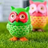 4 pcs Lovely Owls Animal Characters Toys Mini