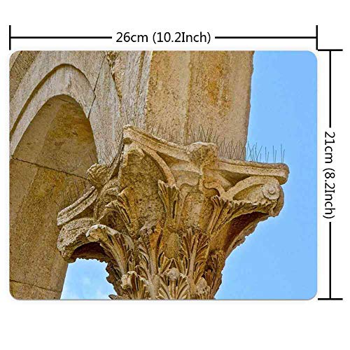 Mouse Pad Rectangle Mouse Pad Arch Scroll Decoration Decorative Ornate #692913 Series 260mm210mm3mm