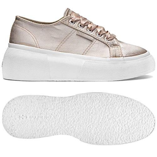 Beige Superga Donna Sneaker satinw 2287 q0w0ZIr