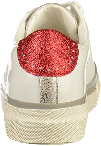 5 20 Femmes Baskets S 23635 oliver Blanc wq05WZBW