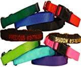 Custom Personalized Embroidered Dog Collars (Guardian Gear Brand Dog Collars)