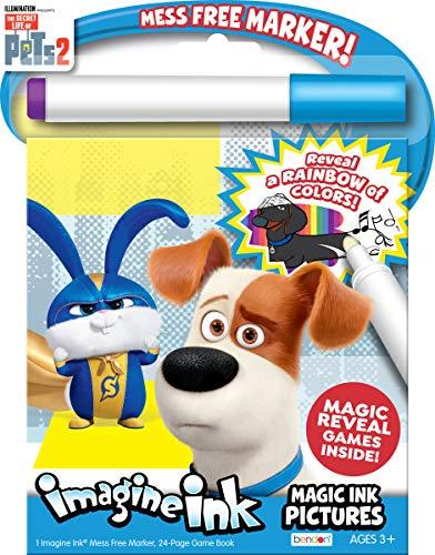 Secret Life of Pets Coloring Book Imagine Ink Magic Pictures 42238