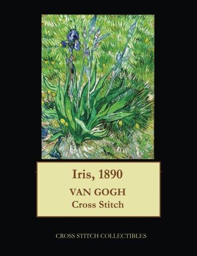 Iris Cross Stitch Pattern - 1