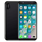 Full Screen Unlocked Smartphone - Dual SIM 3G Dual HD Camera Cellphone - Android7.1-5.8 inch - 2G+16GB Mobile Phone (Black, 8X)