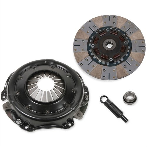 Hays 92-3000 Street 650 Clutch Kit 10.5 in. Dia. 10 Spline 1 1/8 in. Input Shaft 650 Max HP Rating Incl. Pressure Plate/Disc/Throwout Bearing/Alignment Tool Street 650 Clutch ()