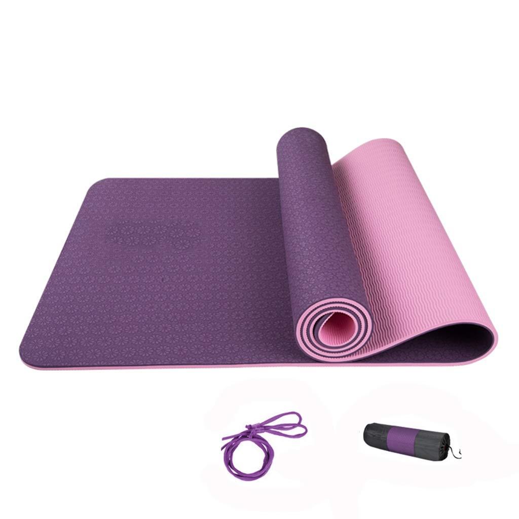 G 8MM KKCD Tapis de Yoga Extra épais avec Sangles de Transport, Ensemble de Tapis de Sport de Haute qualité antidérapant et Non Toxique