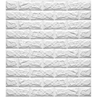 120x120cm PE Foam 3D Wall Stickers Safty Home Decor Wallpaper Sticker,white