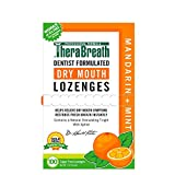 TheraBreath Dry Mouth Lozenges, Mandarin Mint