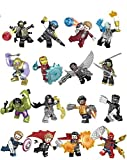 VANVENE Hero Blocks Avenger Infinity War Minifigures Set 16 pc including Thanos, Hulk, Thor, Iron Man, Spiderman, Hulk, Captain America and More