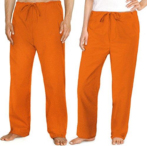 Orange Scrubs Pants BOTTOMS Lg Orange - Apparel Scrubs For (Orange Sweatpants)