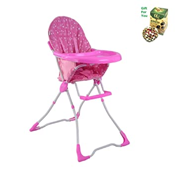 Amazoncom Baby High Chair Infant Toddler Feeding Booster Seat