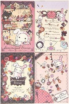 Set kawaii hojas para cartas Sentimental Circus, Japón: Amazon.es ...