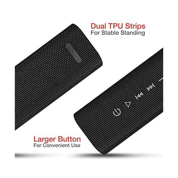 HAVIT V4.2 Enceinte Bluetooth Portable Puissante, Haut Parleur Bluetooth pour Bluetooth, Entrée Filaire, Carte TF -Noir 3