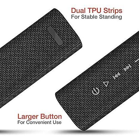 Cassa Bluetooth 4.2 Home Stereo Wireless da 10 W M16 Nero Superficie in Tessuto 12-14 Ore di Riproduzione Microfono Incorporato HAVIT Altoparlante Bluetooth Portatile
