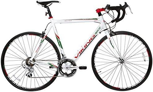 Viking Giro dItalia 2014 - Bicicleta de carretera para hombre, color blanco, talla 53 cm: Amazon.es: Deportes y aire libre