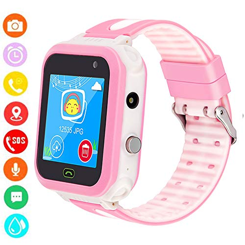TOPCHANCES Kids Smartwatch Phone,IP67 Waterproof 1.44
