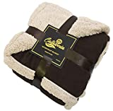 #10: Catalonia Waterproof Blanket,Pee Proof Couch Sofa Bed Protector Cover for Baby,Super Cozy Plush Fleece Warm Sherpa Lining Throws and Blankets for Boating Camping