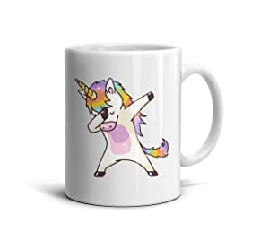 LOUTRTDF A Friend Told Me I was Delusional I Almost Fell Off My Unicorn… Mans and Womens 11oz Coffee Mug Daily Use Best Friend Cup